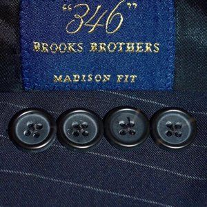 42S Brooks Brothers Madison Fit Navy Blue SUIT